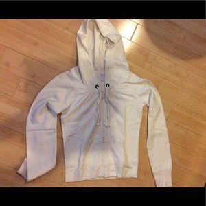 Old Navy thermal zip front hoodie, XS/S